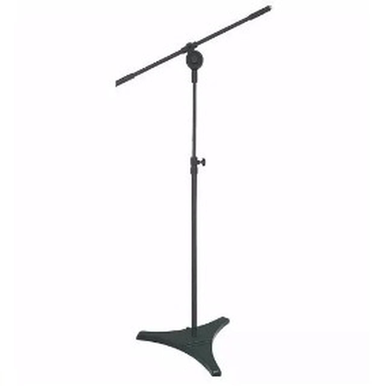 Pedestal Girafa Para Microfone Pés De Ferro Hpm-58