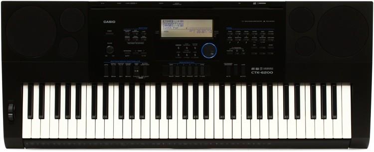 Teclado Casio CTK 6200