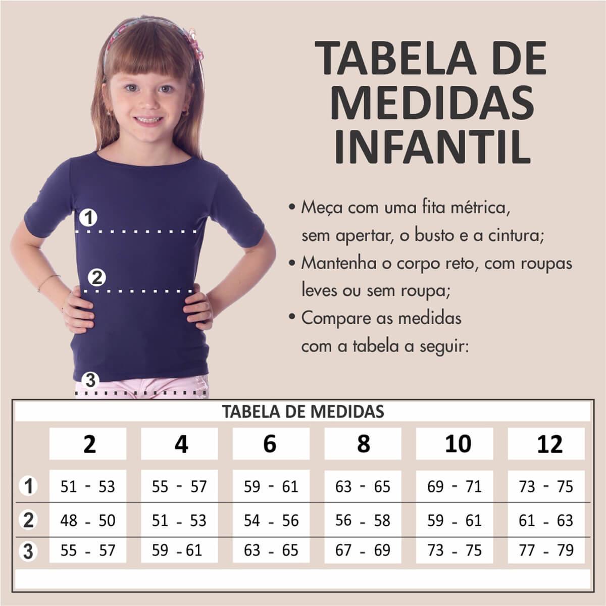 Blusa Infantil UV Manga Curta Poá Preta de Bolas Brancas Decote Canoa