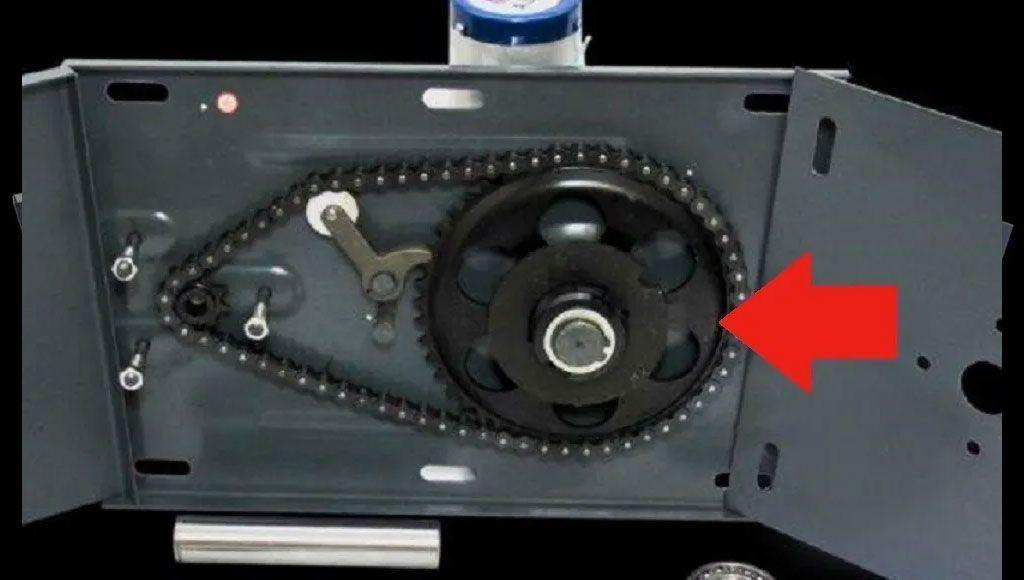Chapa Testeira P/automatizador P. Enrolar 800kg Alfa 03