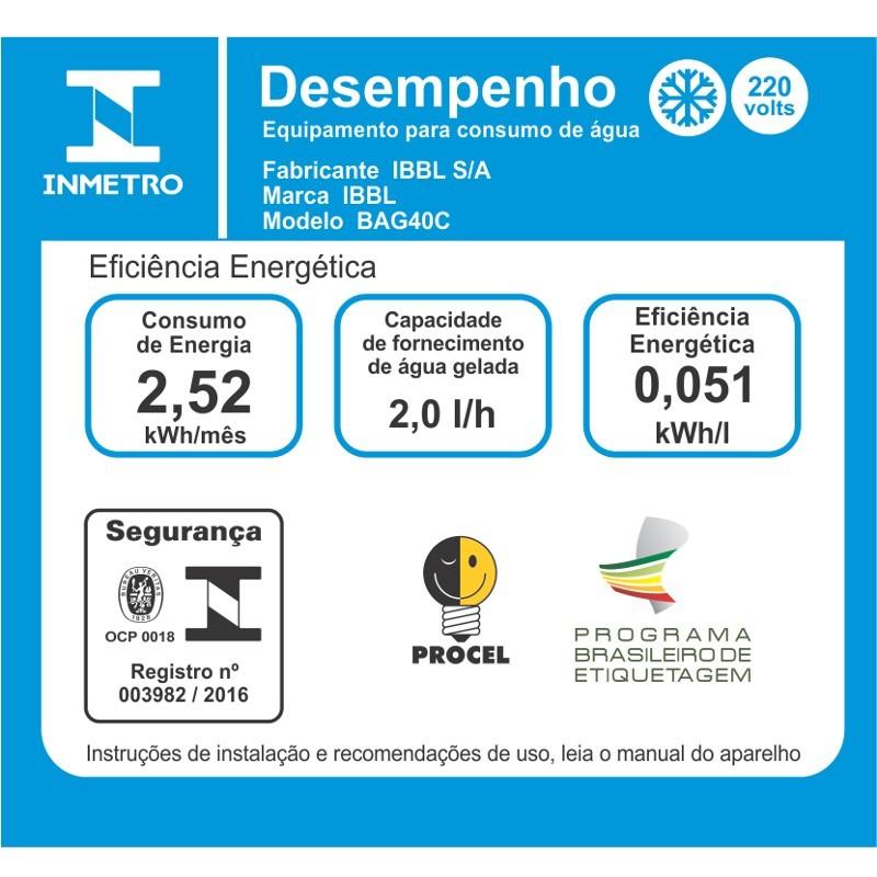 BEBEDOURO BAG40C INOX - IBBL