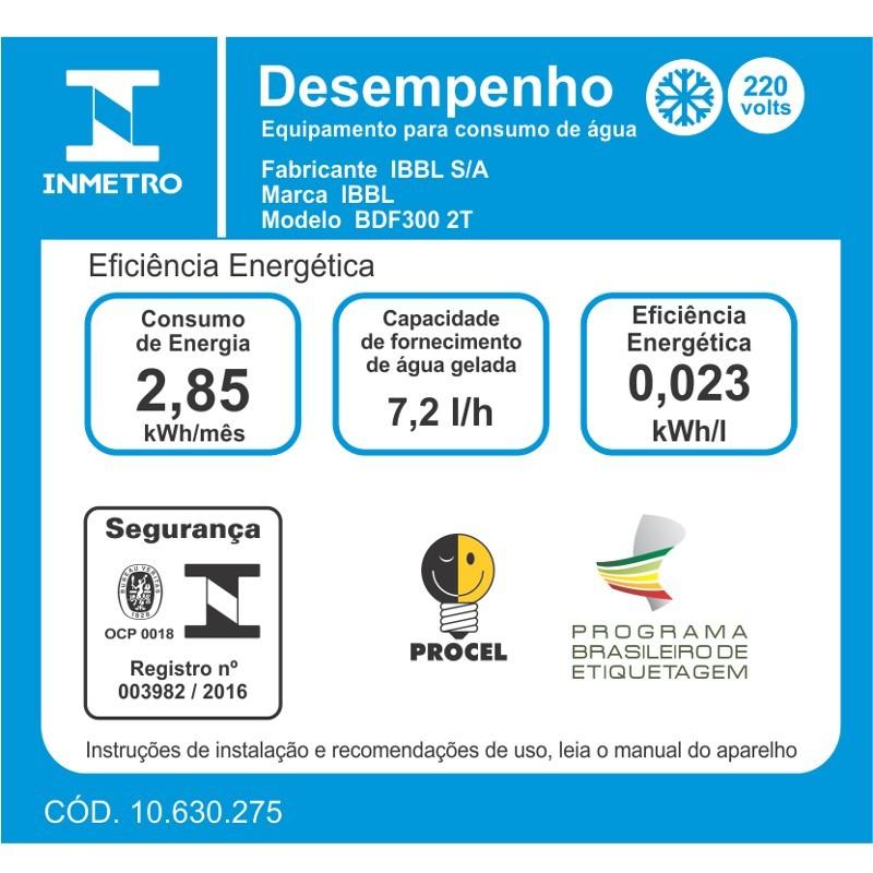 BEBEDOURO BDF300-2T - FORNECIMENTO 7,2 LITROS/HORA - IBBL