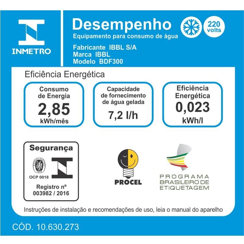 BEBEDOURO BDF300 - FORNECIMENTO 7,2 LITROS/HORA - IBBL