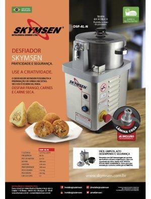 DESFIADOR DE FRANGO INOX - SKYMSEN