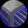 MESA TOTAL INOX 430 COM GRADE INFERIOR - 0,80 X 0,70 M - 4699 - IMECA