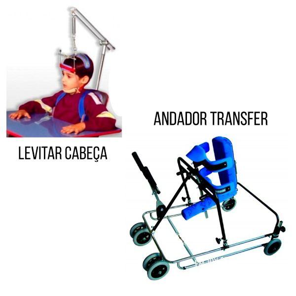 COMBO: ANDADOR TRANSFER + LEVITAR DE CABEÇA