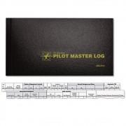 ASA | ASA-SP-6 | Caderneta Master standard para Piloto capa dura preta