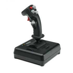 CH Products | 200-571 | Joystick Fighterstick USB - Simulador de Voo