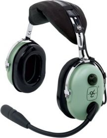 DAVID CLARK H10-13.4 HEADPHONE AERONÁUTICO MONO PLUGUE DUPLO