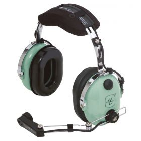 DAVID CLARK H10-30 HEADPHONE AERONÁUTICO ESTÉREO PLUGUE DUPLO