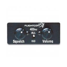 Flightcom | 403mc | Intercom mono painel 4 posições