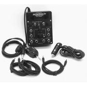 GCA | GCA-400ST | Intercom portátil estéreo para 4 lugares