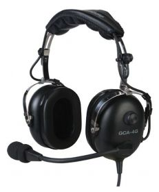 GCA |  GCA-4G | Headset Aeronáutico (plug Duplo)