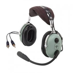 David Clark H10-13.4   Headset Aviação Mono Plugue Duplo