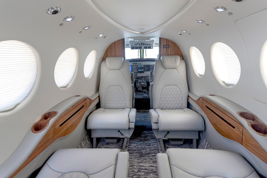 AERIAN Interior King Air