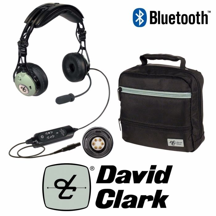 DAVID CLARK | DC PRO-XP | HEADPHONE PAINEL PLUGUE 6 PIN