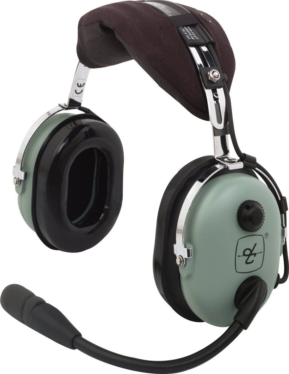 DAVID CLARK H10-13S HEADPHONE AERONÁUTICO ESTÉREO PLUGUE DUPLO