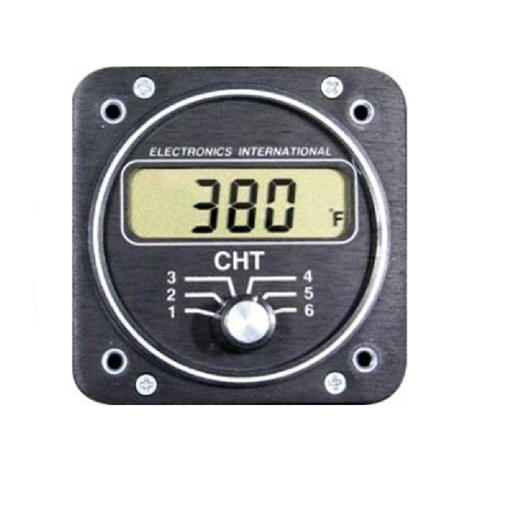 ELECTRONICS INTERNATIONAL C6 Monitor Motor CHT 6 Cilindros