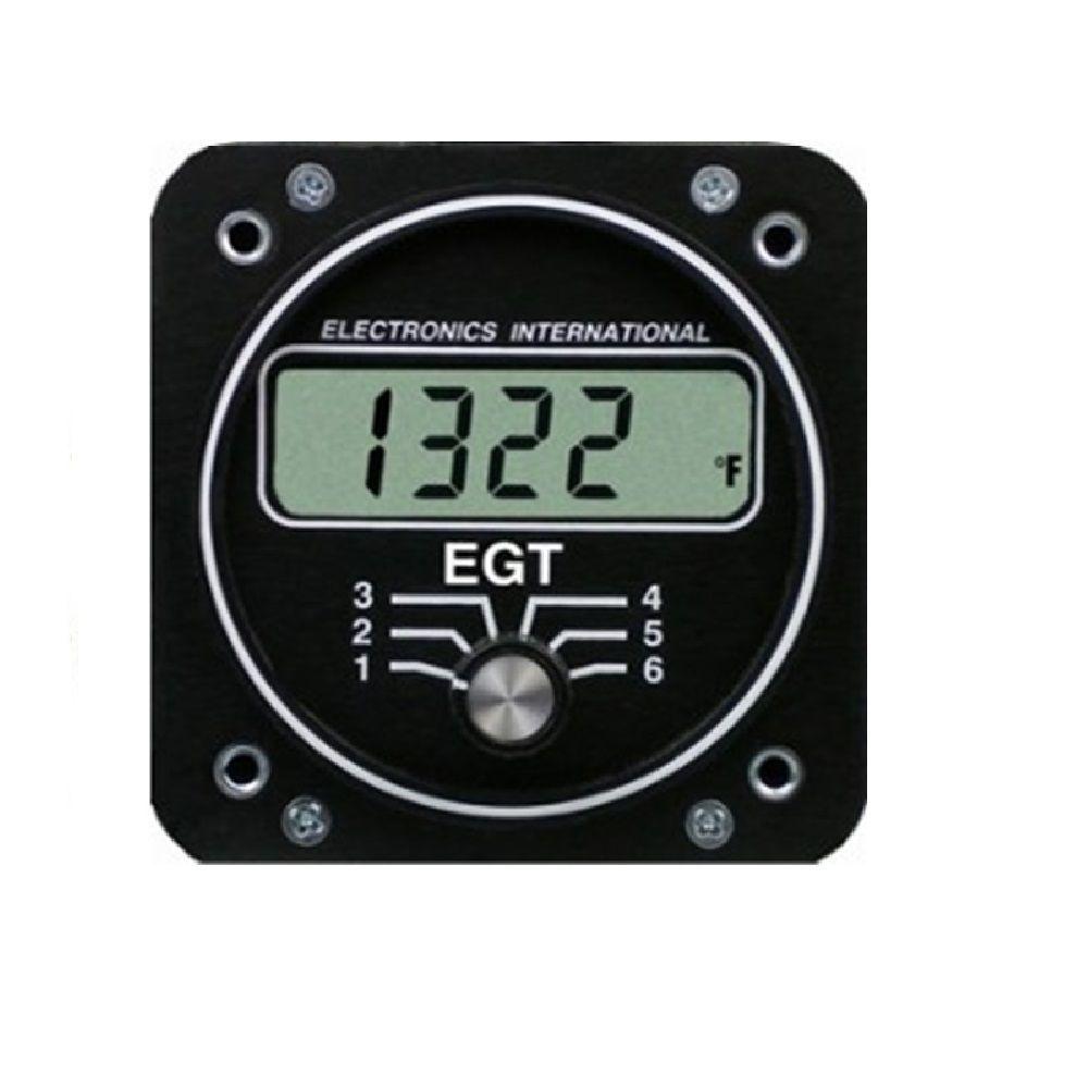 ELECTRONICS INTERNATIONAL E6 Monitor Motor EGT 6 Cilindros
