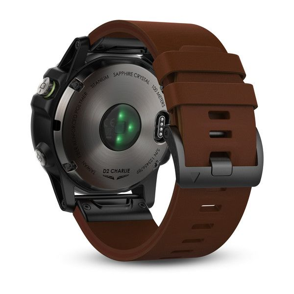 Garmin | D2 Charlie Titanium |  Relógio Navegador Gps