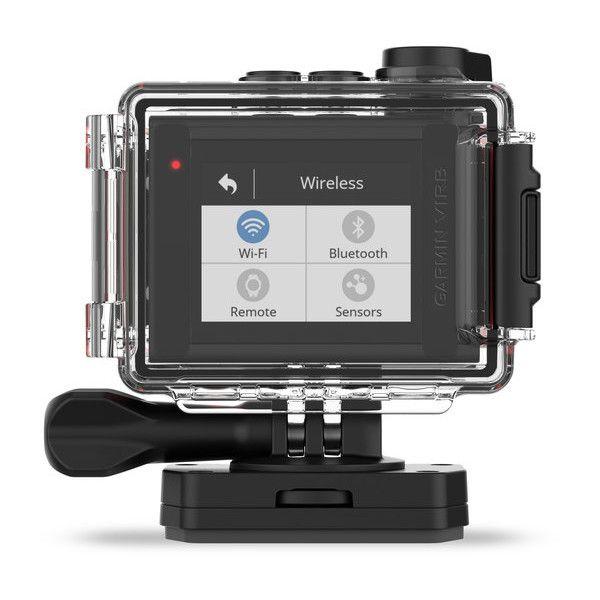 Garmin    VIRB® Ultra 30    Câmera de ação 4K com controle por voz e coberturas de dados