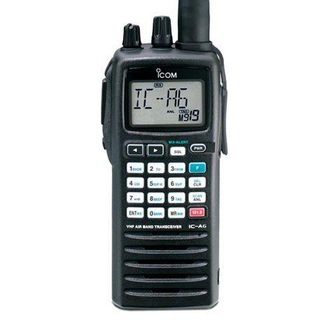 ICOM IC-A6 TRANSCEPTOR VHF