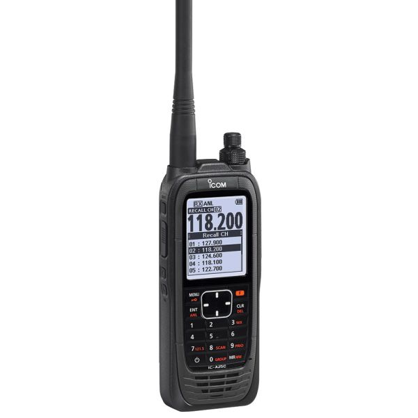 Icon | IC-A25C Sport | Rádio VHF aeronáutico portátil