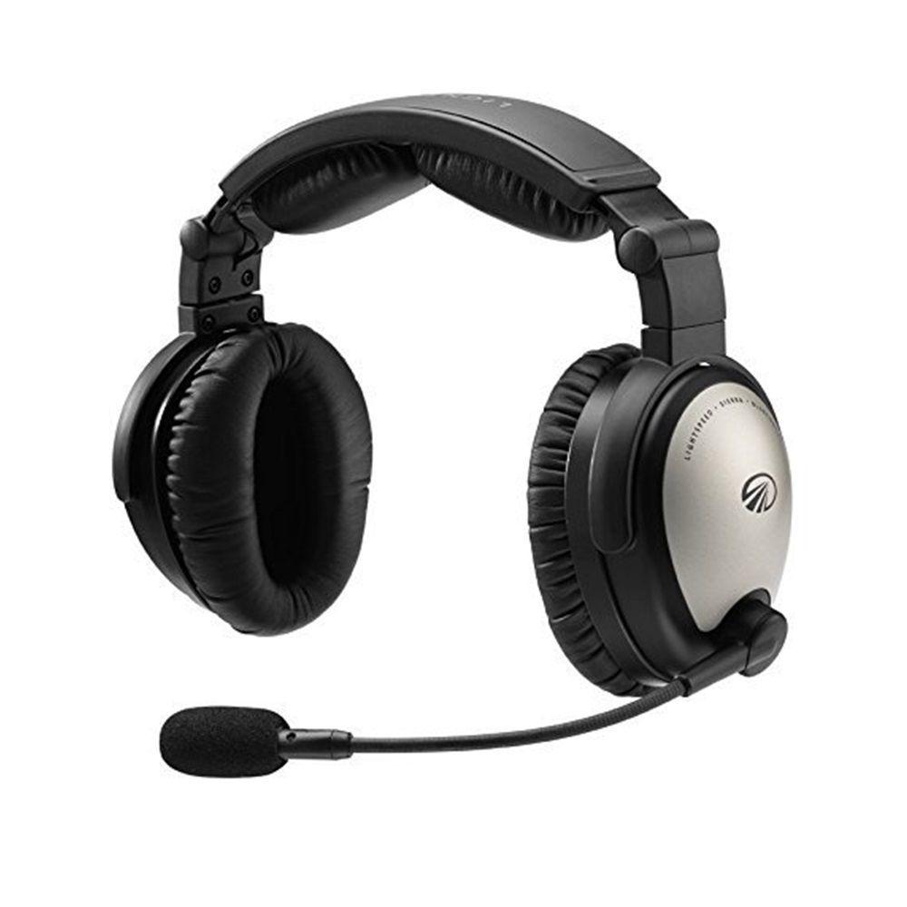 Lightspeed   Sierra   Headset Aeronáutico com ANR e Bluetooth (Plug duplo)