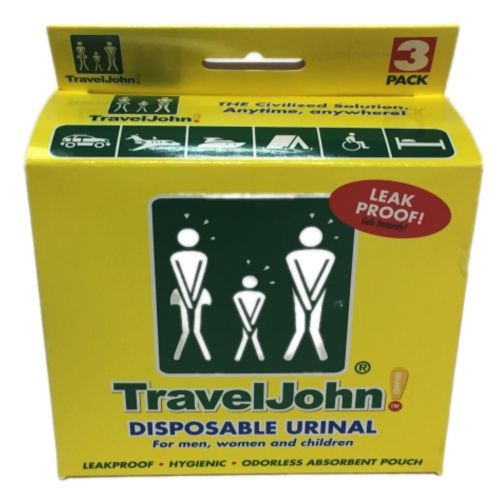 TRAVEL JOHN 66893 URINOL (3 Unidades)
