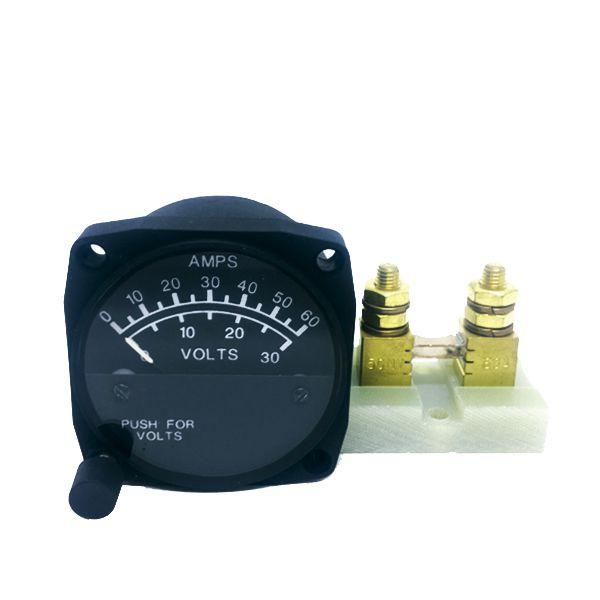 UMA 15-200-060 Indicador Corrente/Voltagem 0-60 Amps