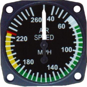 UMA 16-310-240 Velocímetro RV10 40-240 MPH