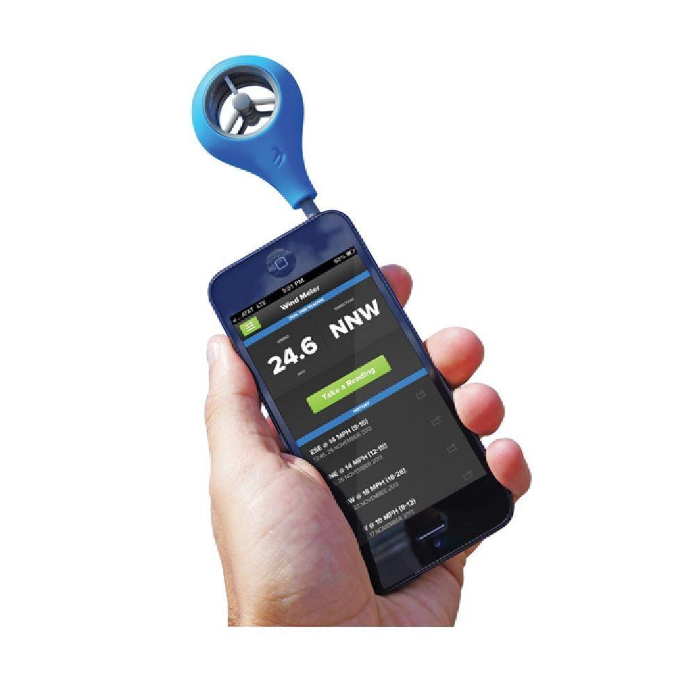 WEATHERFLOW WFANO-01 Anemômetro Portátil Smartphone