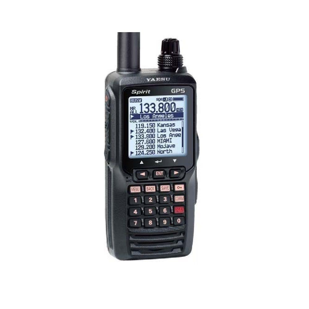 YAESU FTA-750L Rádio Transceptor VHF COM/VOR/GPS LI-ION