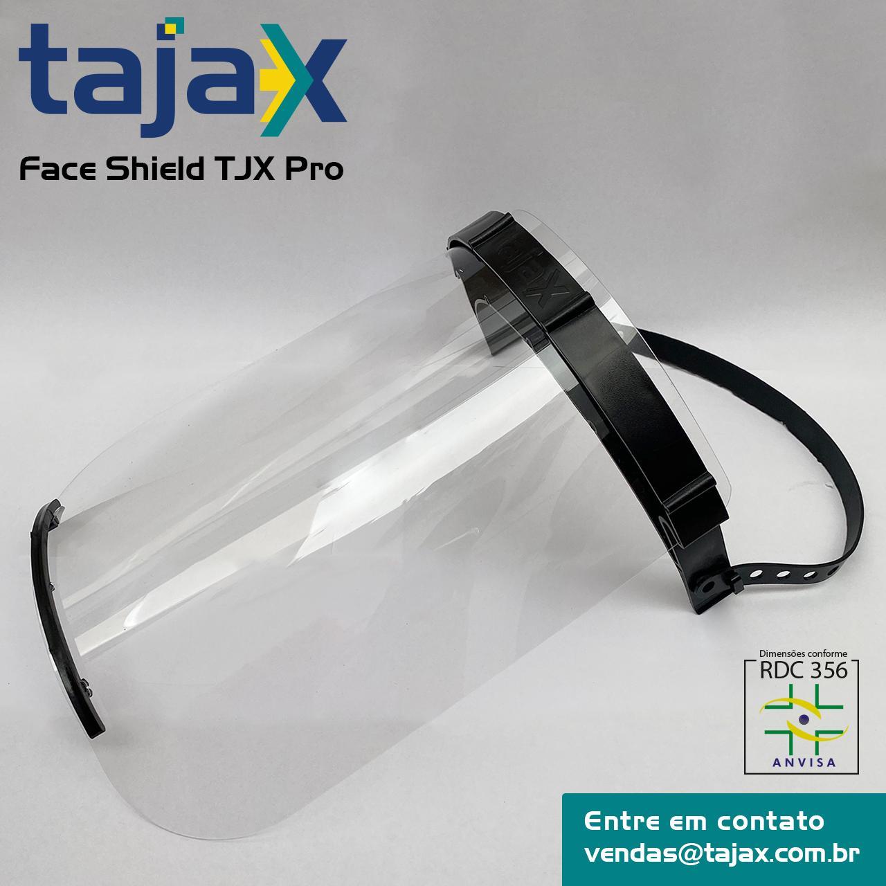100 X Máscara Face Shield Profissional