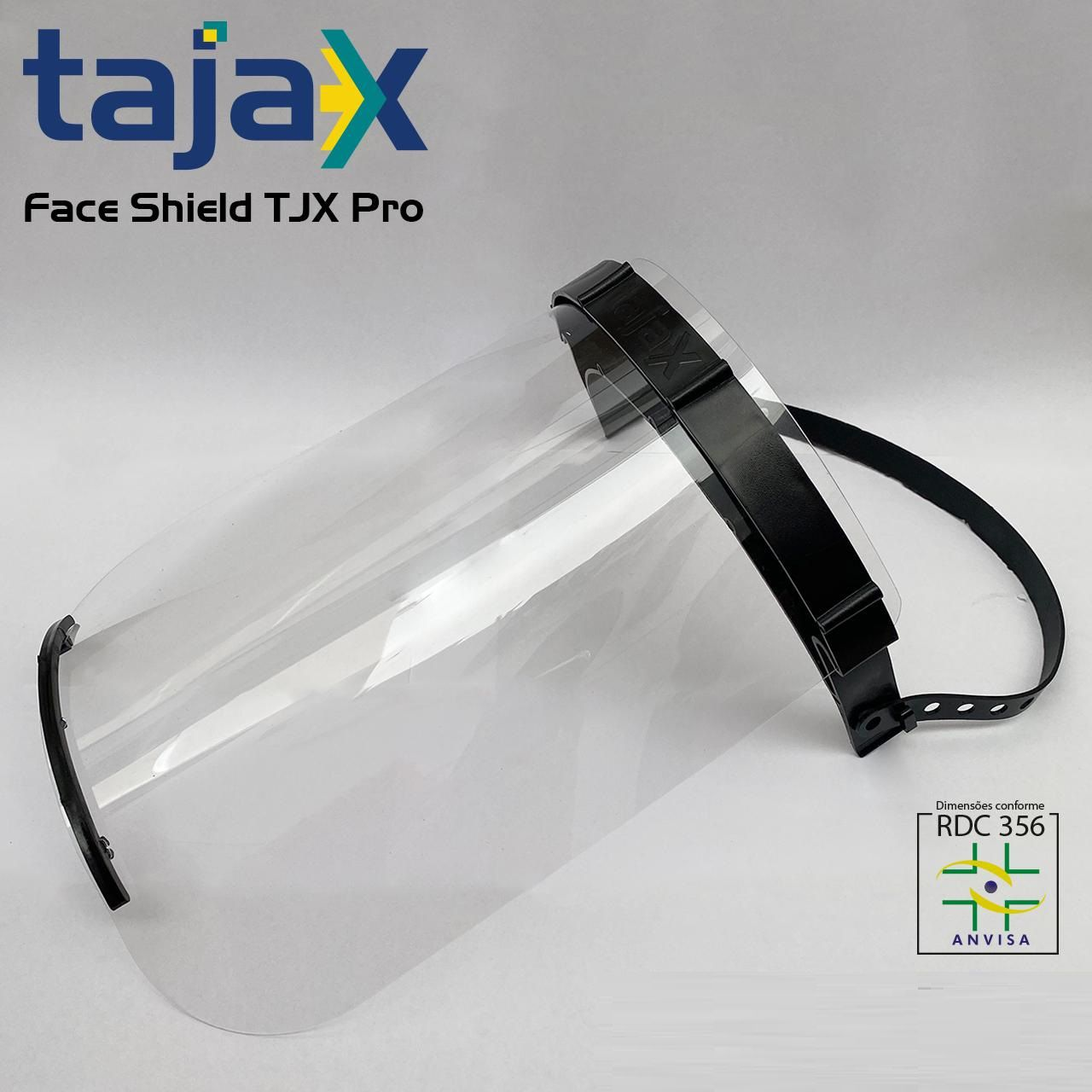 10 X Máscara Face Shield Profissional
