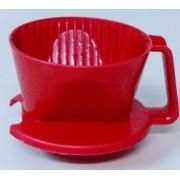 Suporte Plástico Pequeno para Coar Café Nº 101 Vermelho