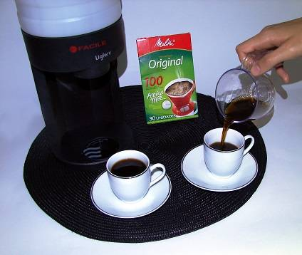 Kit Café - LIGFERV + Melitta 100
