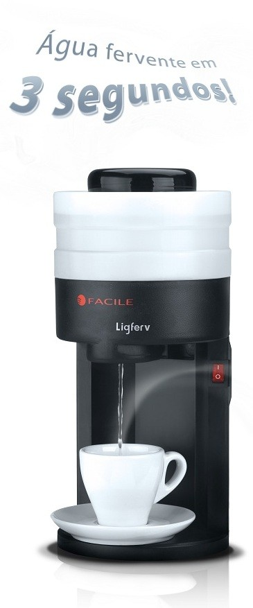 LIGFERV - Fervedor de Água Instantâneo - Frete Grátis!