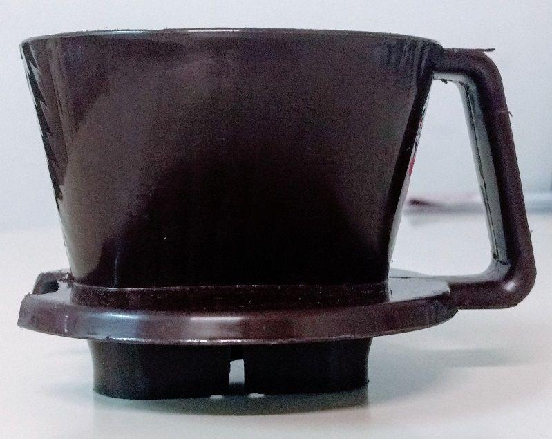 Suporte Plástico Pequeno para Coar Café Nº 101 Marrom