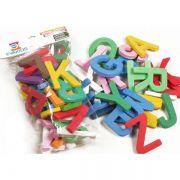 Alfabeto Didático de EVA com 26 Peças 8cm EVA Kids