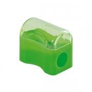 Apontador Mini com Depósito Verde Leo e Leo