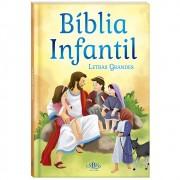 Bíblia Infantil Letras Grandes CD Almofadada SBN Editora