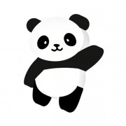 Borracha Panda Pet Leo e Leo