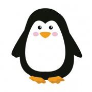 Borracha Pinguim Pet Leo e Leo