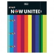 Caderno Argolado Universitário 80 Folhas Now United Tilibra