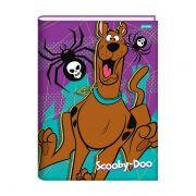 Caderno Brochura 1/4 Capa Dura 96 folhas Jandaia Scooby-Doo 1