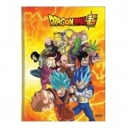 Caderno Brochura 1/4 CD 96 Folhas Dragon Ball 4 São Domingos