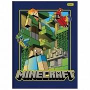 Caderno Brochura 1/4 CD 96 Folhas Minecraft 4 Foroni