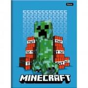 Caderno Brochura 1/4 CD 96 Folhas Minecraft 8 Foroni