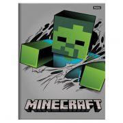 Caderno Brochurão Capa Dura 96 Folhas Foroni Minecraft 6